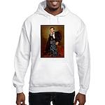 Lincoln / Flat Coated Retriev Hooded Sweatshirt