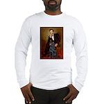 Lincoln / Flat Coated Retriev Long Sleeve T-Shirt