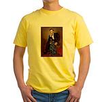 Lincoln / Flat Coated Retriev Yellow T-Shirt