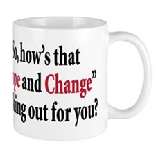 Hope and change Mug