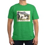 Audubon Mountain Goat Animal (Front) Men's Fitted