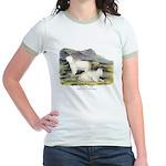 Audubon Mountain Goat Animal Jr. Ringer T-Shirt