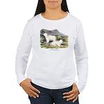 Audubon Mountain Goat Animal Women's Long Sleeve T
