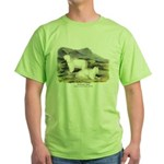 Audubon Mountain Goat Animal Green T-Shirt