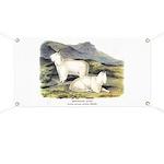 Audubon Mountain Goat Animal Banner