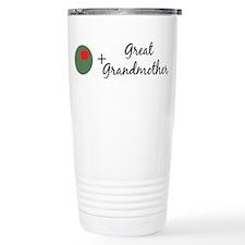 (Olive) Great Grandmother Travel Mug