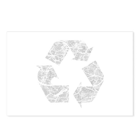 Recycle Logo Recycle Symbol E Postcards (Package o