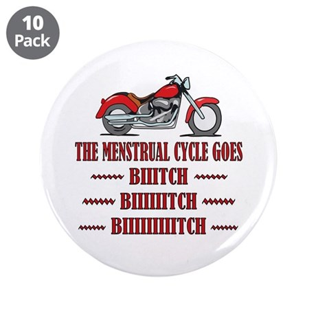 "Menstrual Cycle 3.5"" Button (10 pack)"