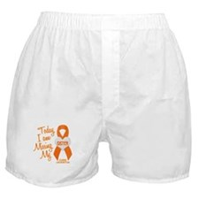Missing My Sister 1 LEUKEMIA Boxer Shorts
