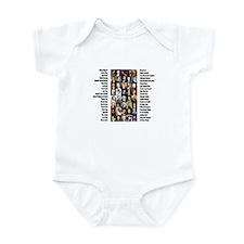Famous Poets Infant Bodysuit