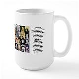 Literature Large Mugs (15 oz)
