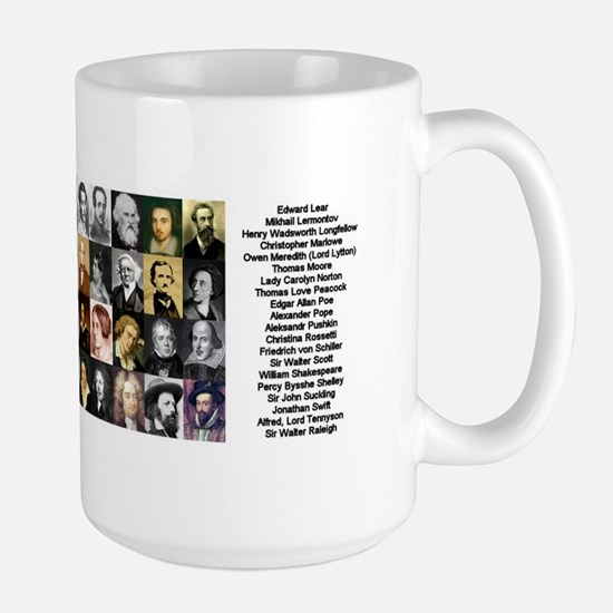 Famous Poets Large Mug
