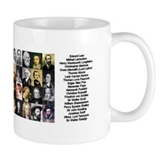Famous Poets Mug