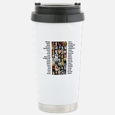 Famous Poets Stainless Steel Travel Mug
