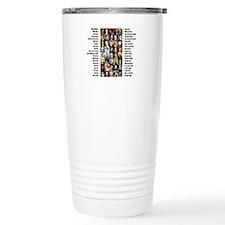 Famous Poets Travel Mug