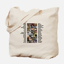Famous Poets Tote Bag