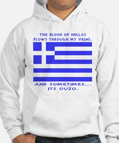 Blood of Hellas and Ouzo Hoodie