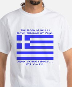 Blood of Hellas and Ouzo Shirt