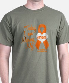 Missing My Grandma 1 LEUKEMIA T-Shirt