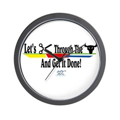 Get it Done Wall Clock