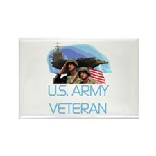 U.S. Army Veteran Rectangle Magnet (10 pack)