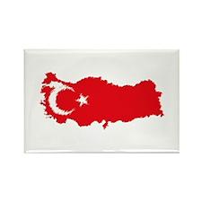 Vintage Turkey Rectangle Magnet