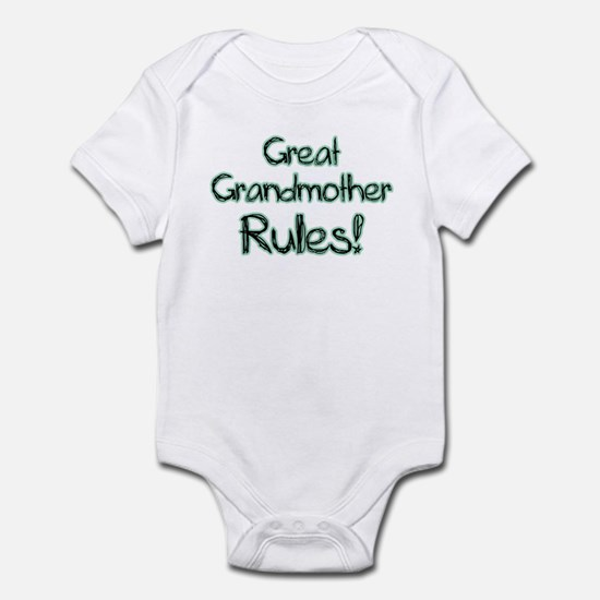Great Grandmother Rules! Infant Bodysuit