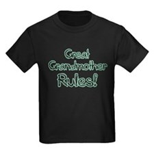 Great Grandmother Rules! T