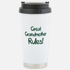 Great Grandmother Rules! Stainless Steel Travel Mu