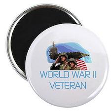 World War II Veteran Magnet