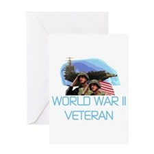 World War II Veteran Greeting Card