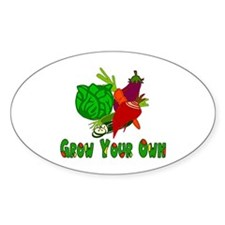 Grow Your Own Decal