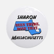 sharon massachusetts - been there, done that Ornam