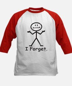 Forgetful Kids Baseball Jersey