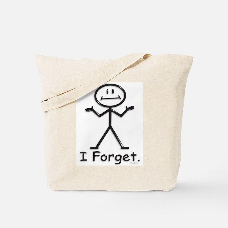 Forgetful Tote Bag