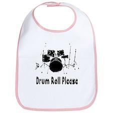 Drum Roll Please Bib
