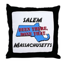 salem massachusetts - been there, done that Throw