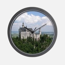 Neuschwanstein Castle Wall Clock