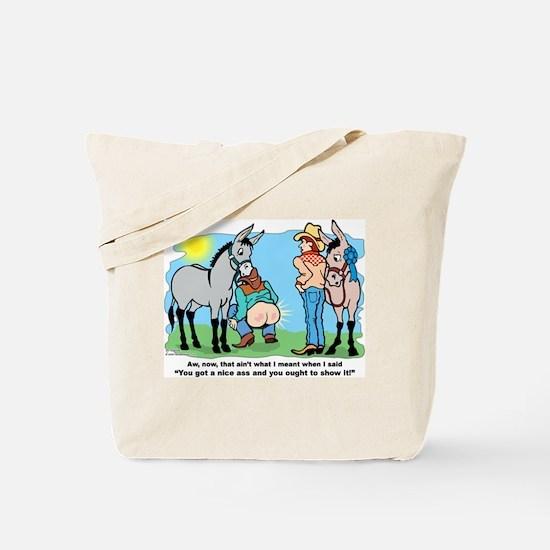 Donkey Show Tote Bag