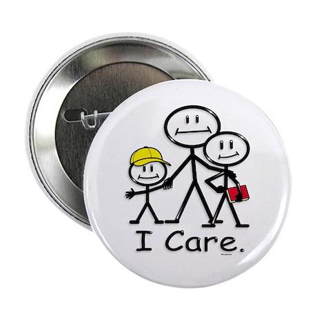 I Care (kids) Button