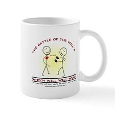 BATTLE OF THE WILLS Mug