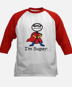 Super Hero Kids Baseball Jersey