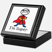 Super Hero Keepsake Box