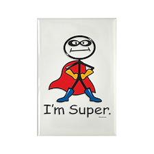 Super Hero Rectangle Magnet