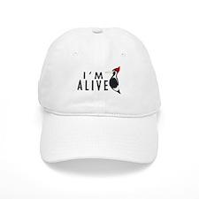 I'm Alive -- Woodpecker Baseball Cap