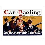 Carpooling Small Poster