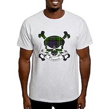 Forbes Tartan Skull T-Shirt
