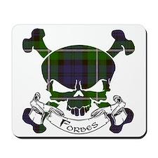 Forbes Tartan Skull Mousepad