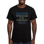Televangelists Men's Fitted T-Shirt (dark)