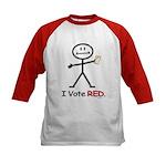 Vote Republican Kids Baseball Jersey